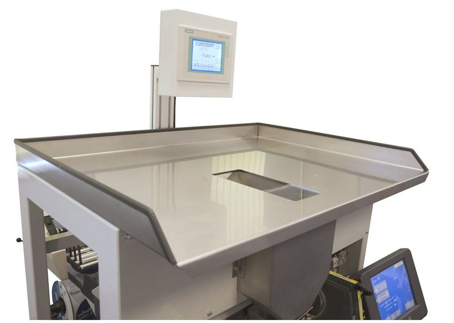 Autobag Accu-Scale 220 Weeg- en telsysteem load tray