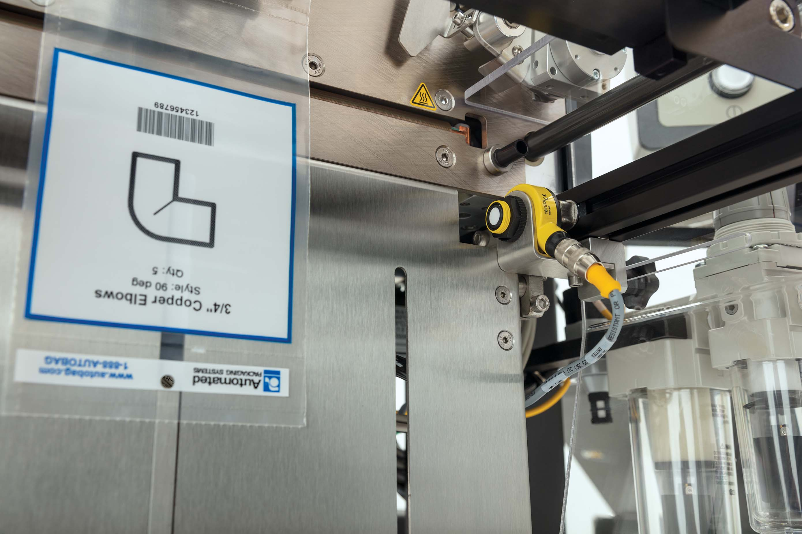 Autobag 500 Bagging System sure fill close up
