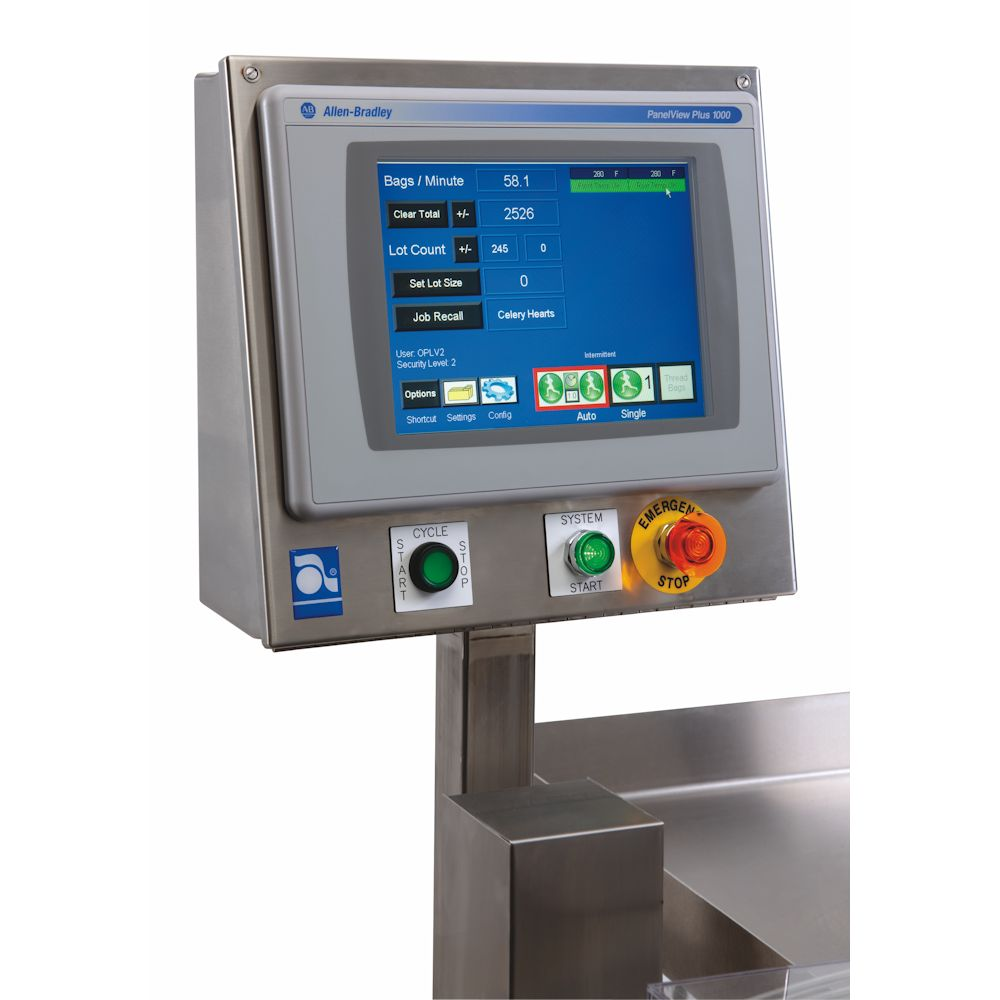 FAS SPrint Revolution Verpakkingsmachine Auto Touch Screen